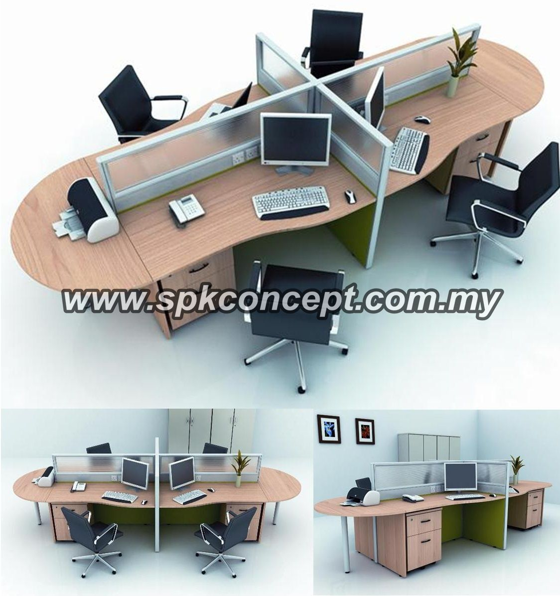 Open Plan System Shah Alam Selangor Malaysia Open Concept System Malaysia Office Furniture Office Chair Office Open Plan System Library Shelving System Office Renovation Works